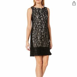 NWT NINE WEST lace and sequin dress